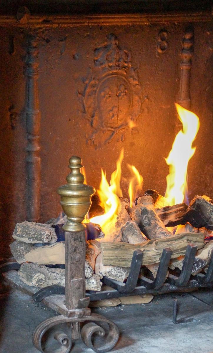Firebacks radiating heat