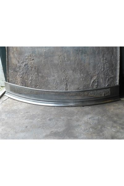 Polished Steel Fire Fender made of 32,155