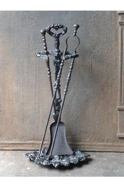 Napoleon III Fireplace Tools made of 14,15