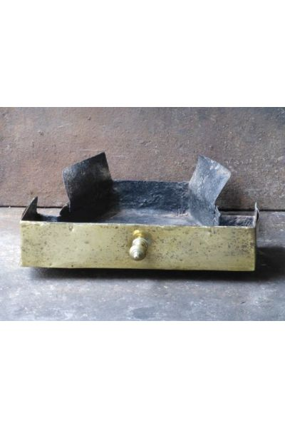 Fireplace ash tray made of 15,16