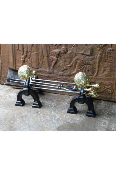 Art Nouveau Fire Tools made of 15,33