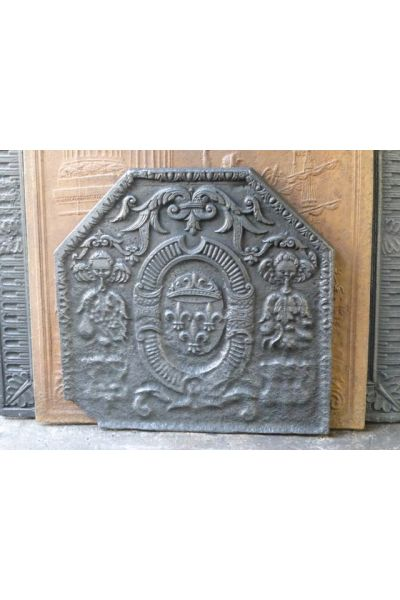 Arms of France Fireback made of 14