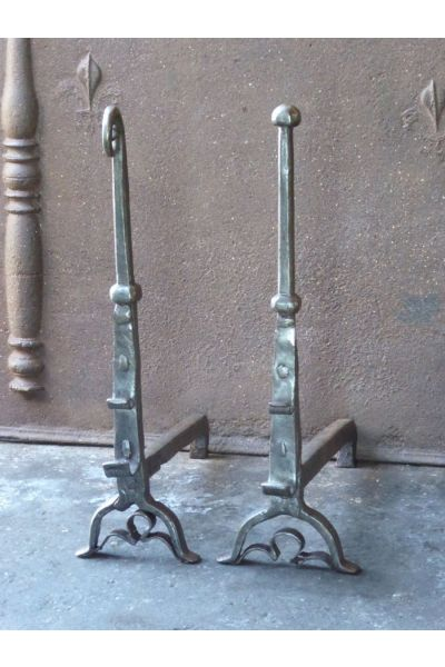Gothic Andirons made of 15
