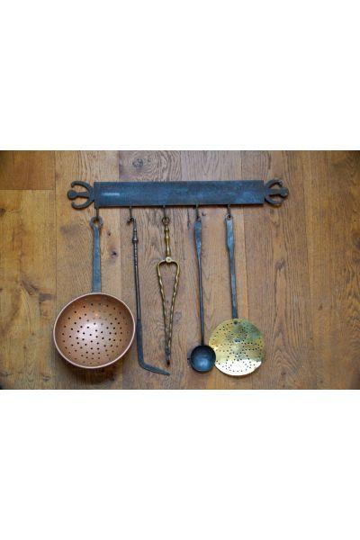 Antique Dutch Fire Tools made of 15,16,31,47