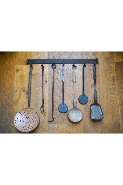Antique Dutch Fire Tools made of 15,31