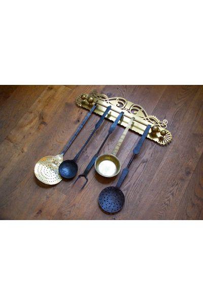 Antique Dutch Fire Tools made of 15,16