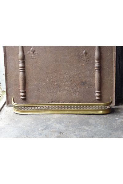 Brass Fireplace Fender made of 16,155