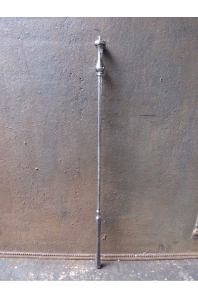 Polished Steel Fire Poker made of 32