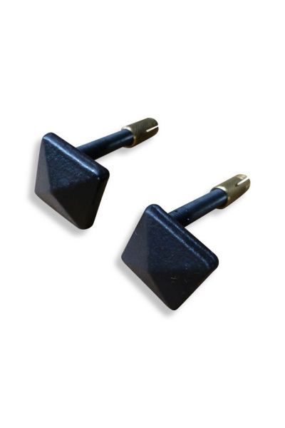 Small Mounting Brackets Fireback | 1 Pair made of 15,16