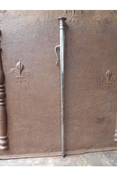 Polished Steel Blow Poker made of 16,32