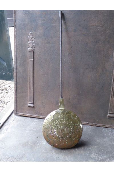Large Antique Hot Water Bottle | Bed Pan made of 15,16