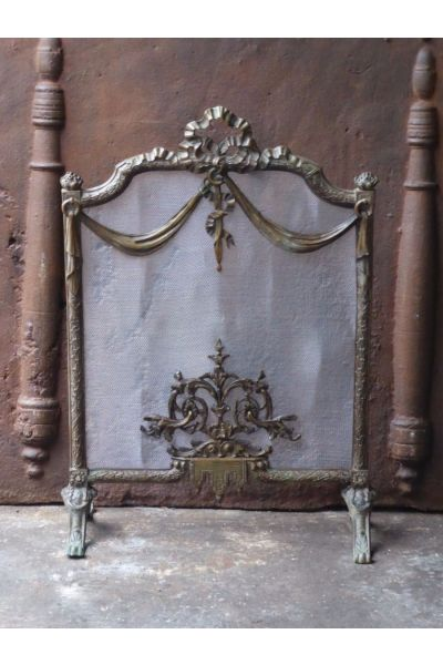 French Fireplace Screen made of 16,154