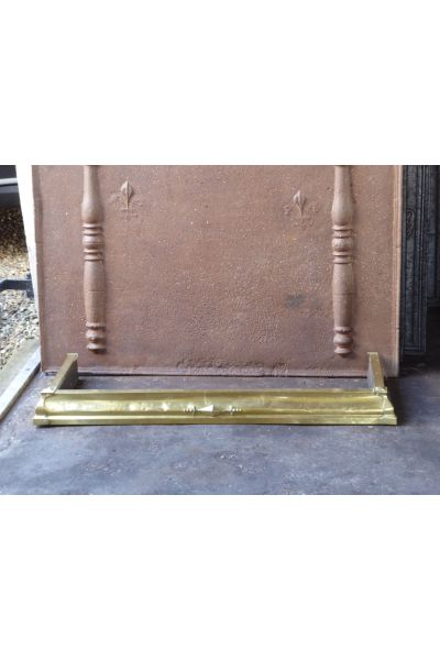 Brass Fireplace Fender made of 16