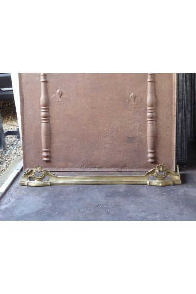 Louis XV Fire Fender made of 16