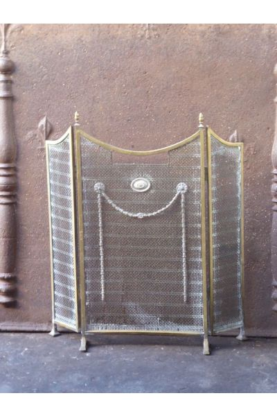 Victorian Fire Screen made of 16,154