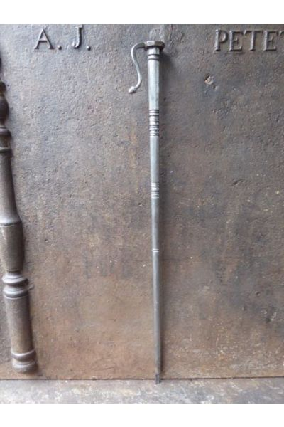Polished Steel Blow Poker made of 32