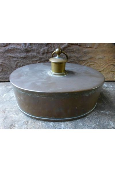 Antique Hot Water Bottle | Bed Pan made of 16,31