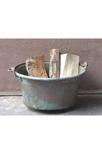Brass Firewood Holder made of 15,16