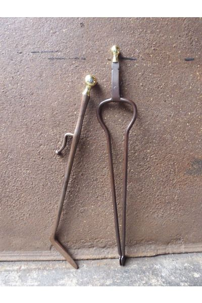 Antique Dutch Fire Tools made of 15,33