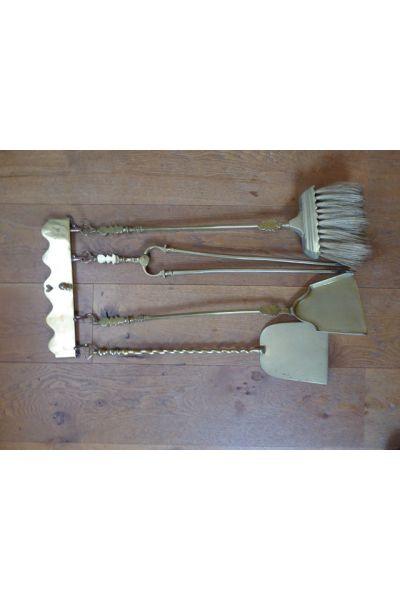 Antique Dutch Fire Tools made of 16,31