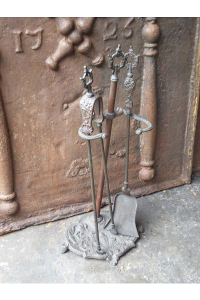 Napoleon III Fireplace Tools made of 16