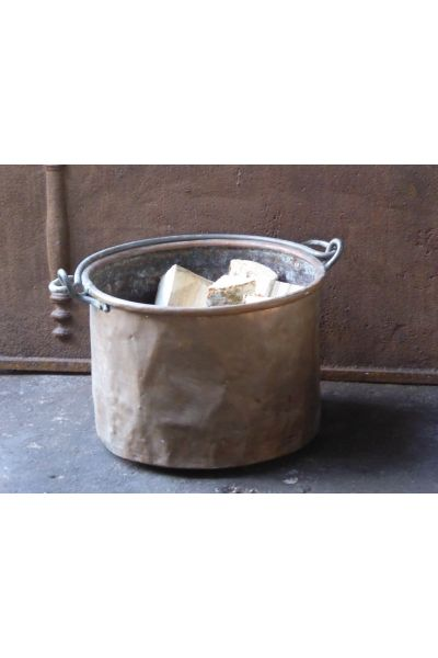 Antique Firewood Bucket made of 15,31