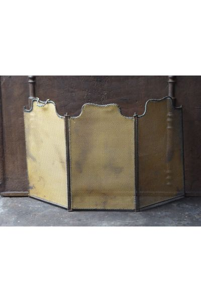 Antique French Fire Screen made of 15,16