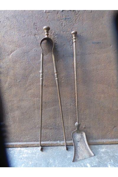 Napoleon III Fireplace Tools made of 15