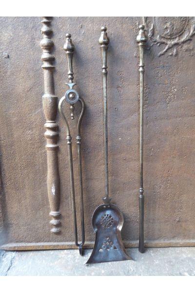 Georgian Fire Irons made of 15