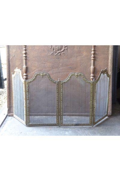 Napoleon III Fireplace Screen made of 16,154