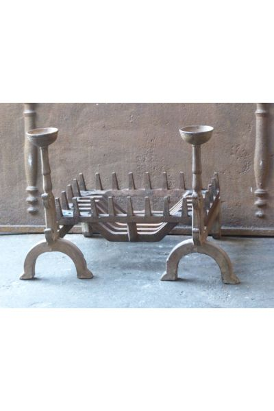 Victorian Fireplace Grate made of 14