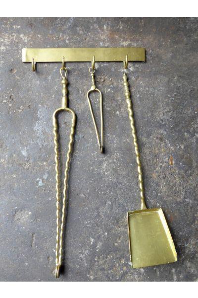 Antique Dutch Fire Tools made of 33