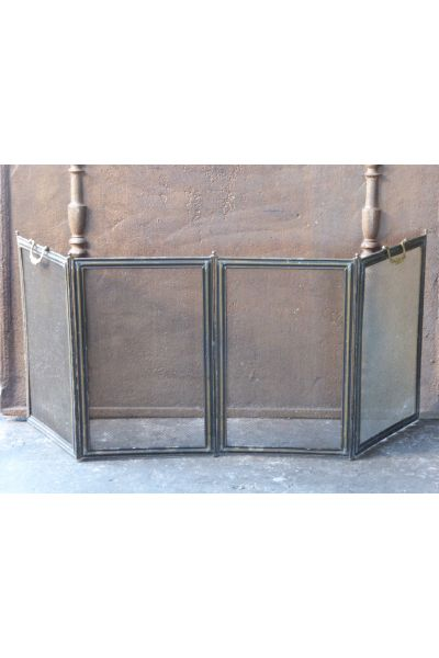 Antique French Fire Screen made of 16,154,155