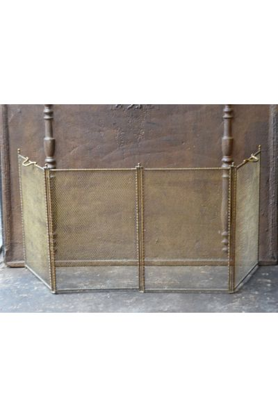 Antique French Fire Screen made of 154,155