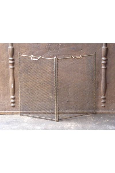Antique French Fire Screen made of 14,154,155