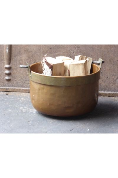 Antique Firewood Bucket made of 15,16,31