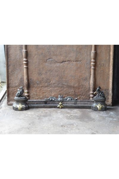 French Fireplace Fender made of 14,15,16