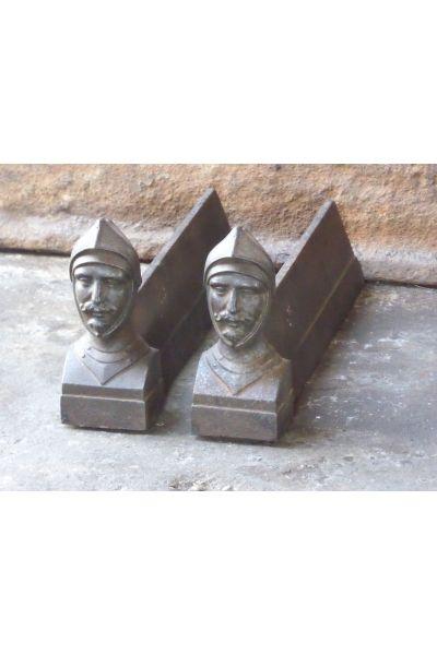 D'Artagnan Andirons made of 14