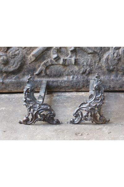 Louis XV Style Andirons made of 14,16