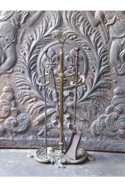 Napoleon III Fireplace Tools made of 15,16