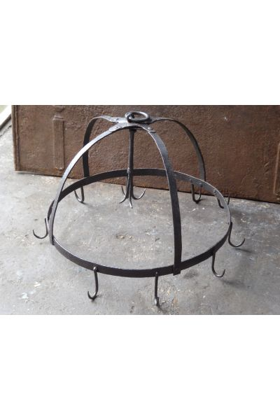 Large Antique Dutch Crown made of 14