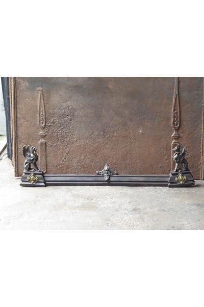 French Fireplace Fender made of 16,155