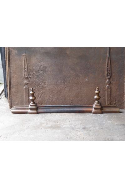 French Fireplace Fender made of 16