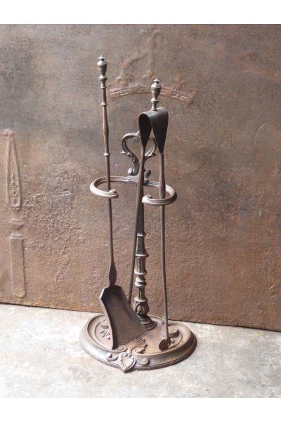 Napoleon III Fireplace Tools made of 14,15,16