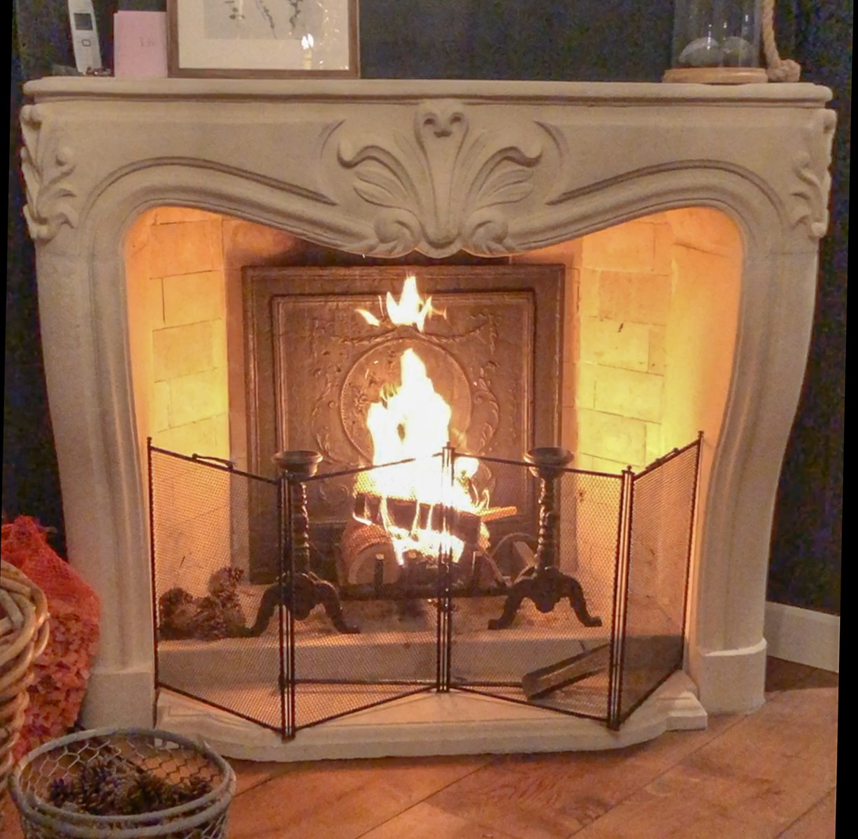 How Should A Fireplace Screen Be
