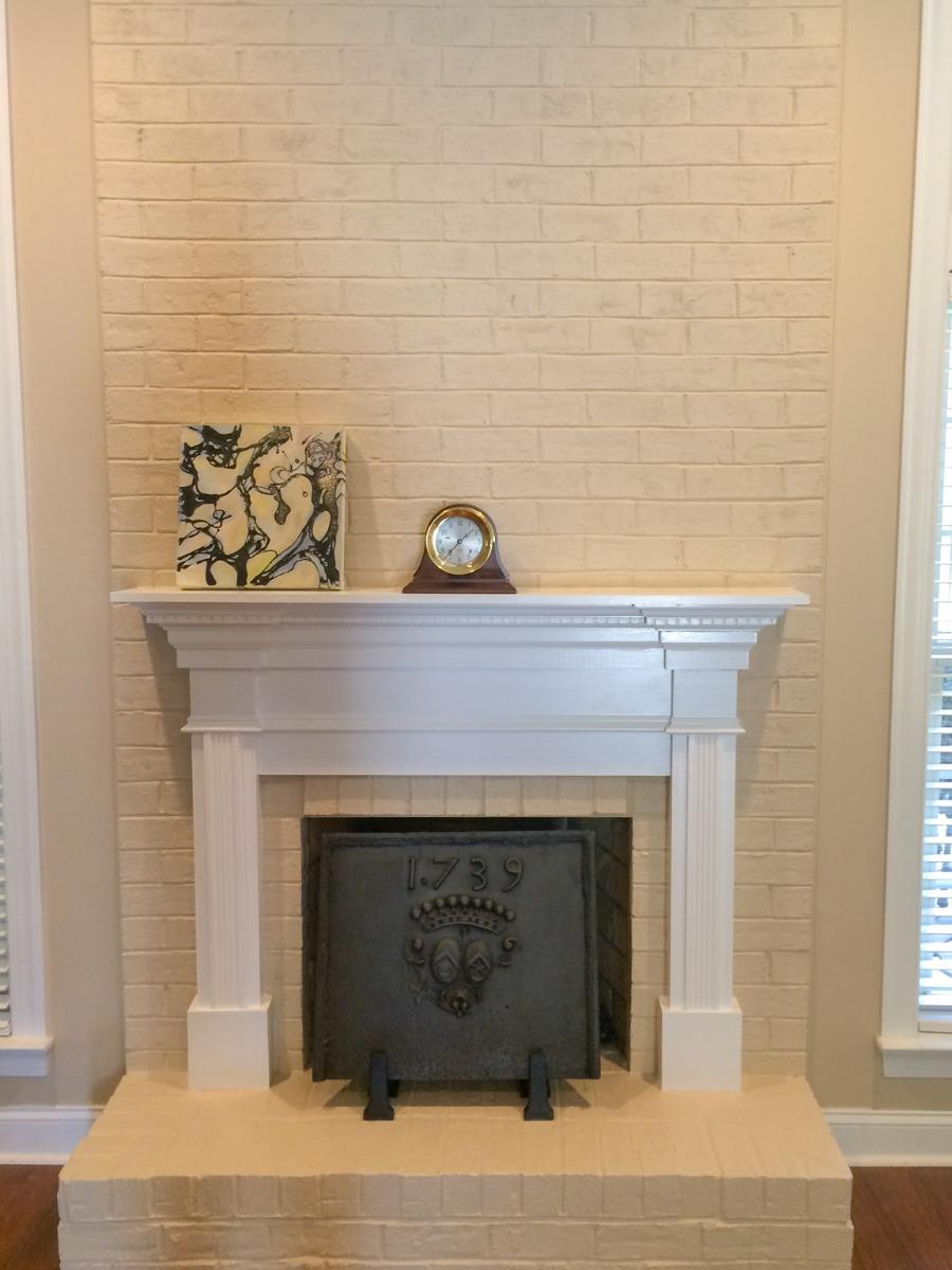 Fireplace fireback in Charlotte, North Carolina sourced from https://www.firebacks.net