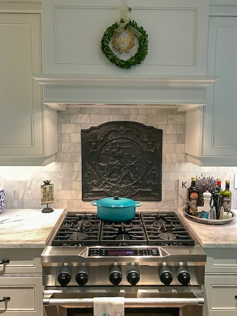 How To Install A Fireback Above A Stove
