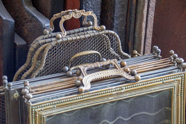 Rustic fireplace screens for sale