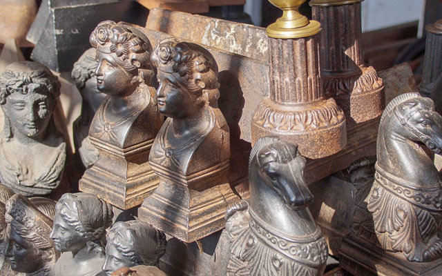 Andirons or firedogs for sale