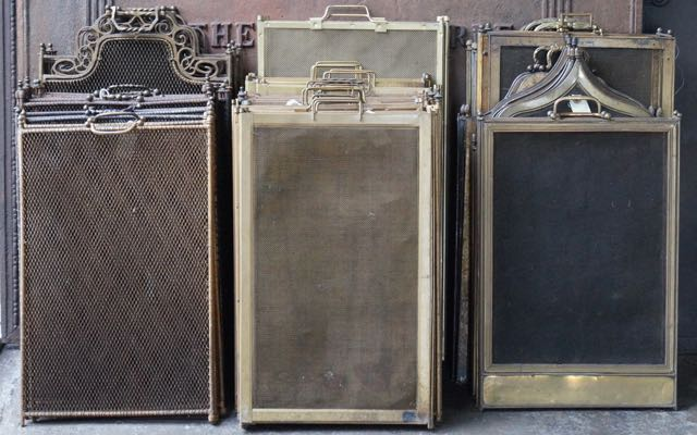 Fireplace screens for sale